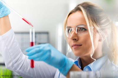 Ilustrasi Petugas Laboratorium meneliti obat kanker, dokter, pengobatan kanker terkini ampuh dan manjur, remisi, tradisional alternatif, sembuh, pemeriksaan, tuntas, praktikum, jas putih, dosis obat hasil remisi kemoterapi radiasi onkologi karsinoma rumah sakit