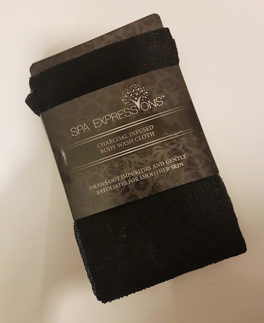 Spa Expressions Charcoal Infused Body Wash Cloth
