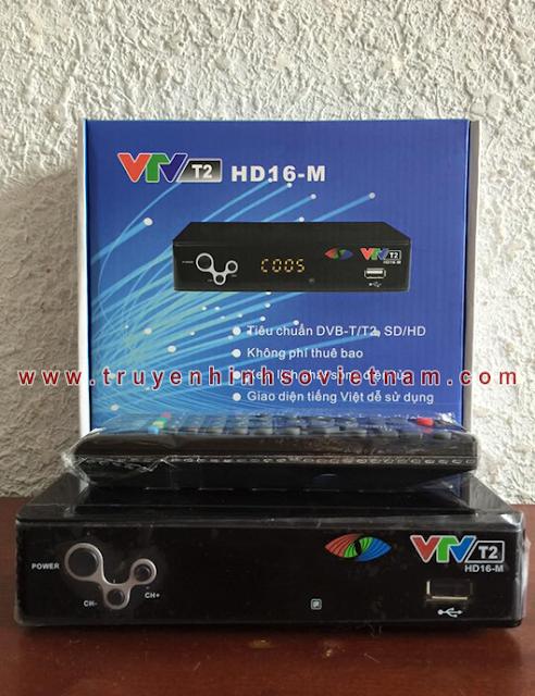 đầu thu DVB T2 VTV