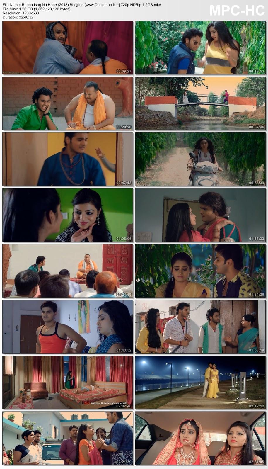 Rabba Ishq Na Hobe (2018) Bhojpuri 720p WEB HDRip 1.2GB Desirehub