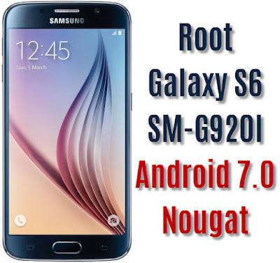 Root Galaxy S6 SM-G920I
