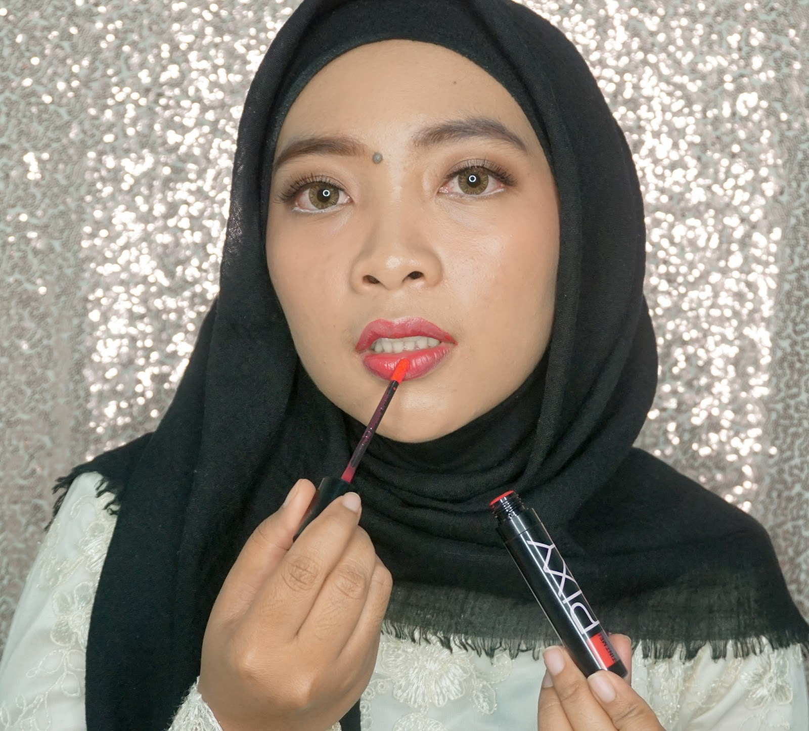 Review Pixy Tint Me In Red, Lip Tint Lokal Recommended, Lip Tint Lokal Bagus, Lip Tint Lokal