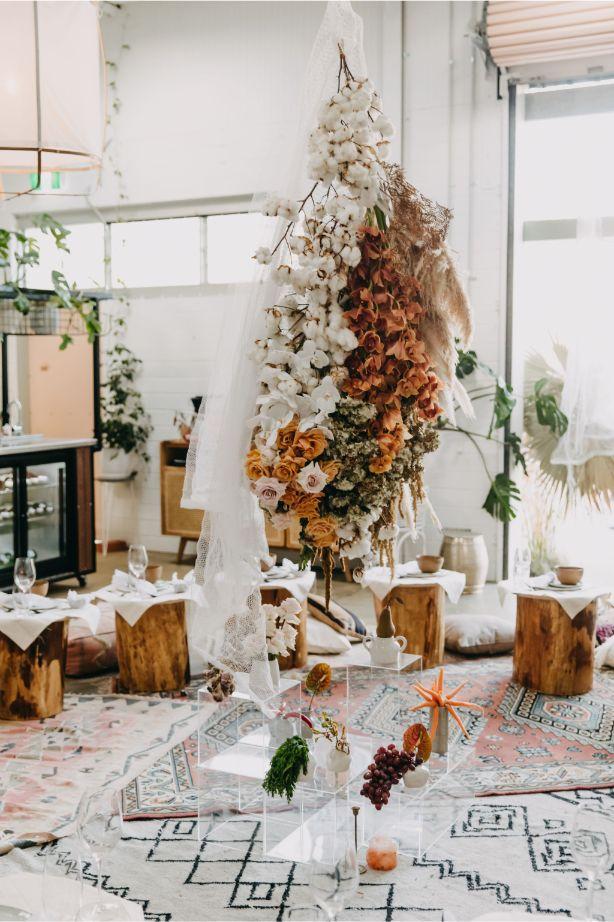 WEDDING FLORALS PERTH FLOWERS INSTALLATION RIDHWAAN MOOLLA PHOTOGRAPHY