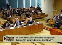 AO VIVO: STF decide se fica com investigações sobre Lula