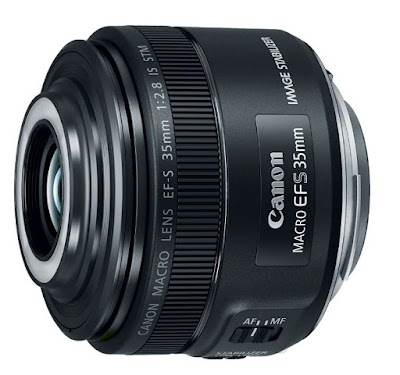 New Canon EF-S 35MM F/2.8 Macro IS STM Lens Released