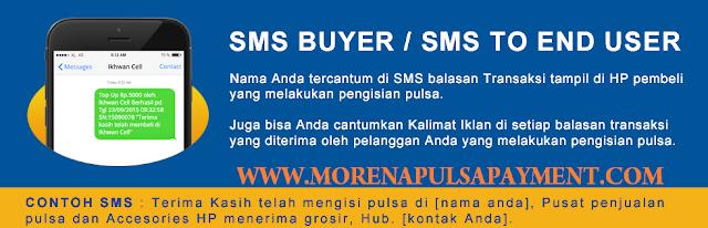 Cara Setting Iklan SMS Buyer di Morena Pulsa