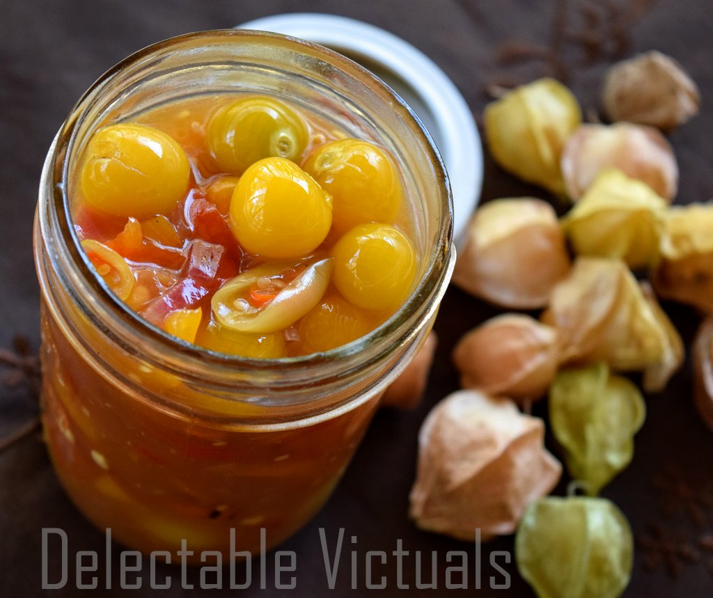 Ground Cherries aka Husk Cherries aka Cape Gooseberrie Three ways to eat