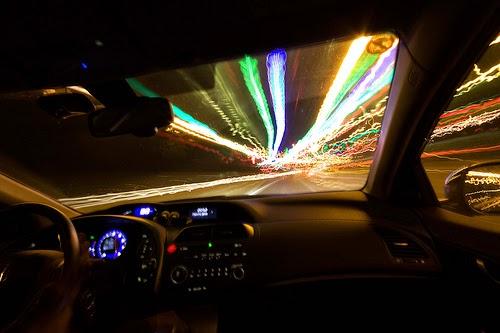 تطويق الحركة سيارة