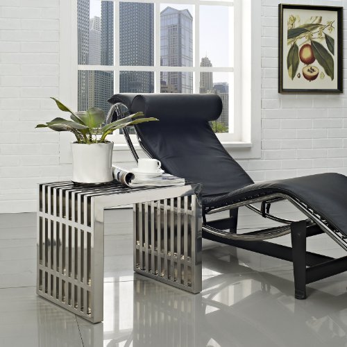 Tinuku Small Gridiron Stainless Steel Bench