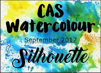 CAS Watercolour September Challenge