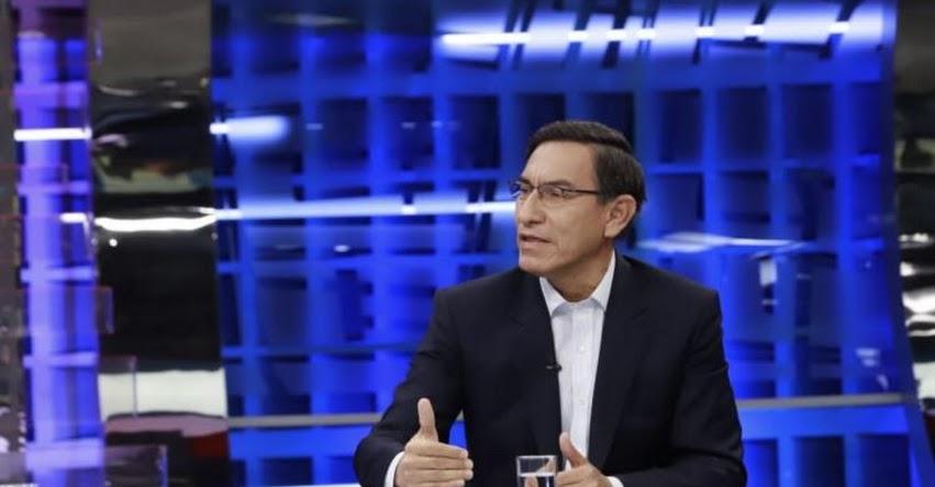 Presidente Vizcarra cerraría el Congreso si el lunes niegan el pedido de cuestión de confianza