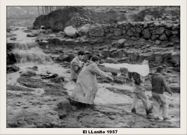 La Tragedia del Llanito en La Palma (Canarias).