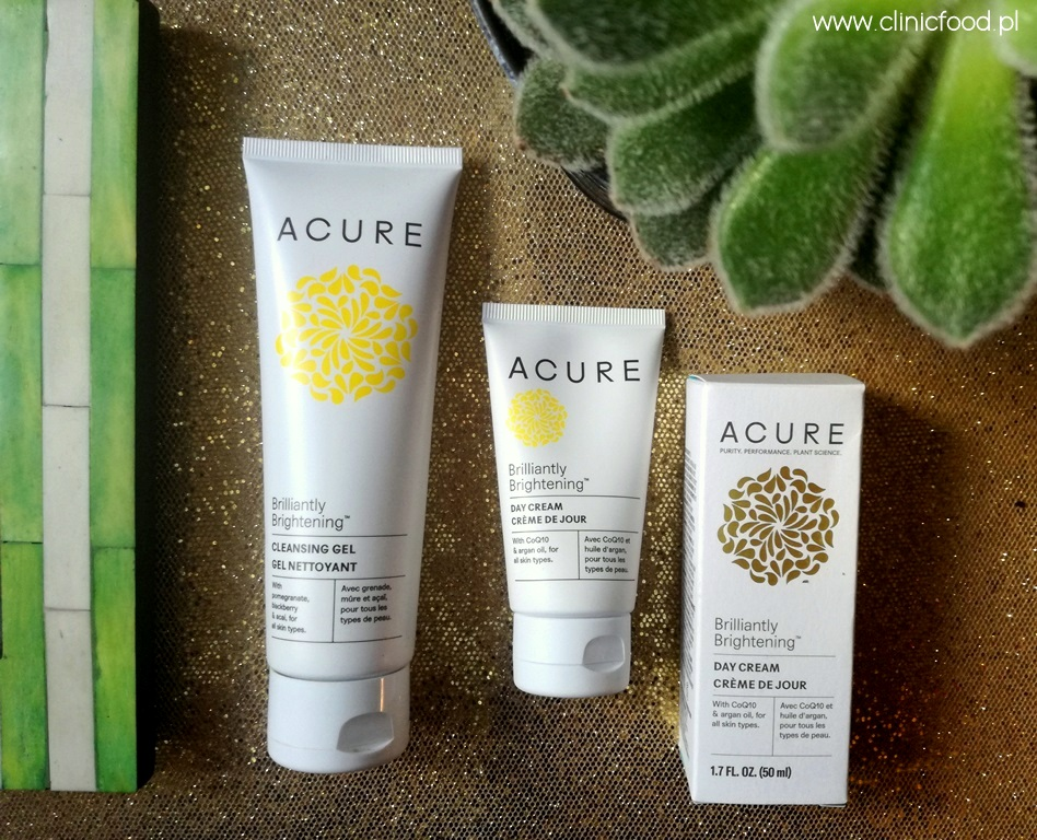 Kosmetyki Acure Organics seria Brilliantly Brightening