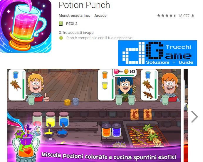 Trucchi Potion Punch Mod Apk Android v1.2