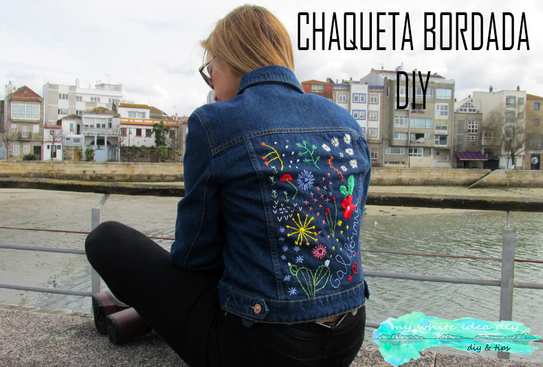 CHAQUETA BORDADA DIY