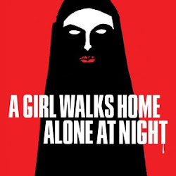 Poster A Girl Walks Home Alone at Night 2014