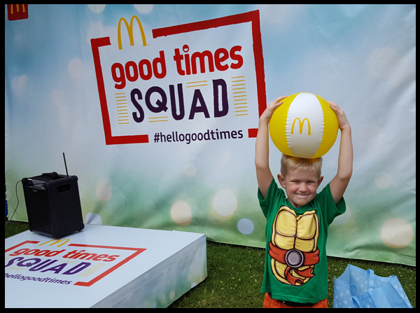 Brighton McDonalds pop up event at Queens Park on Saturday July 2016