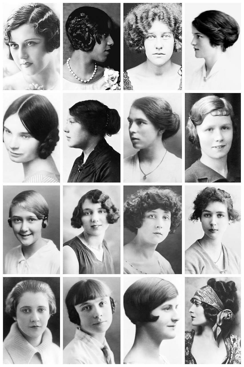 Hairstyles from the 1920s fade haircut under the root oh my great gatsby 1920s hairstyles urmus Gallery