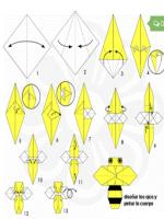 http://manualidadesparaninos.biz/como-hacer-una-abeja-con-papel/