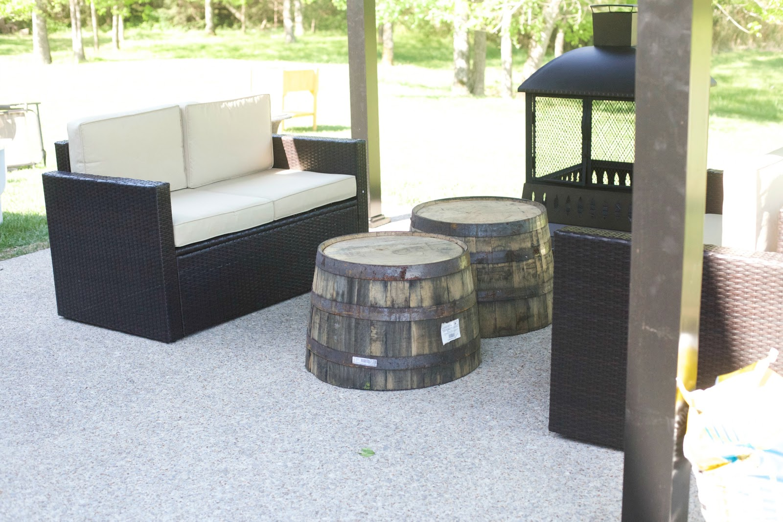lowes patio furniture clearance sale plastic adirondack chai