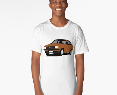Opel Kadett C  Coupe t-paita