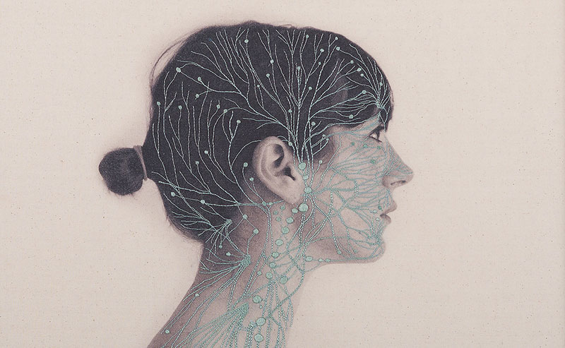 Anatomical Embroideries By Juana Gomez
