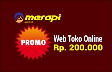 Promo jumat berkah web toko online Rp. 200rb