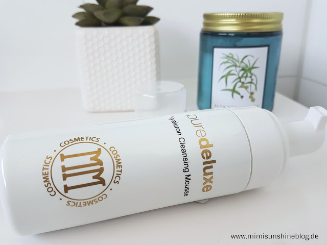 puredeluxe Hyaluron Cleansing Mousse