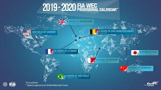 WEC Schedule