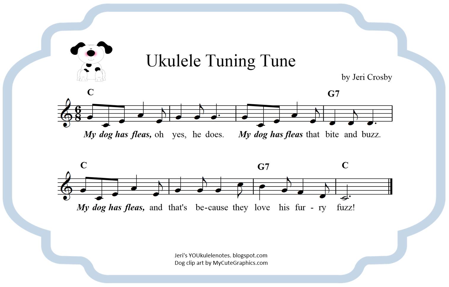 Jeris Youkulele Notes Youke Can Tune Ukulele Tuning Diagram Youtube Uke Tuner 2 Https Ukutunercom Pineapple Petes