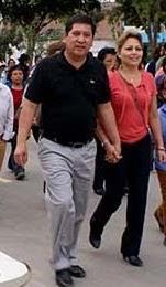 Resultado de imagen para alcalde chancay y esposa congresista