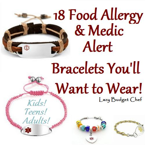 18 Allergy Medic Alert Bracelets You Ll Want To Wear