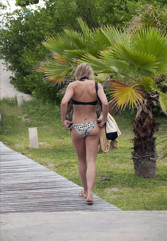 Gemma Atkinson in Bikini in Beach