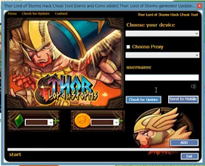 THOR LORD OF STORMS CHEATS HACK TOOL 2013