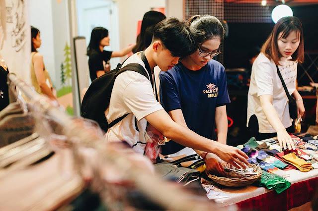 Chợ phiên Danang Bazaar mở vào các dịp đặt biệt tại Đà Nẵng