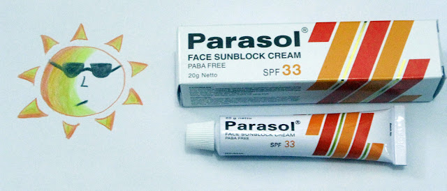 Review Parasol Face Sunblock Cream SPF 33
