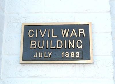 Gettysburg Railroad Station in Gettysburg Pennsylvania - Civil War Building