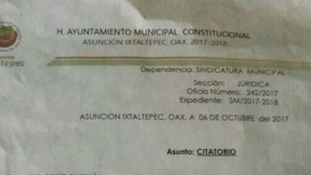 Autoridades de Oaxaca citan a niña por haber criticado desvíos de despensas en su Facebook