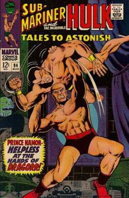 Tales to Astonish #94, the Sub-Mariner