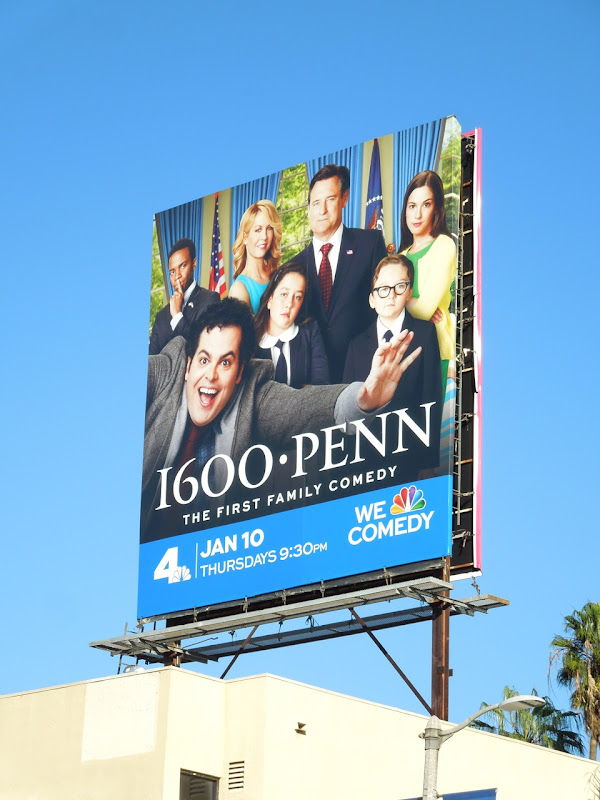 1600 Penn TV billboard