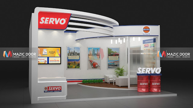 Mazicdoor Indian Oil Stall Design 02