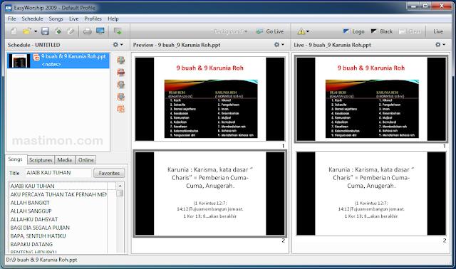 Cara tambahkan PowerPoint ke Easy Worship 2009 dengan mudah