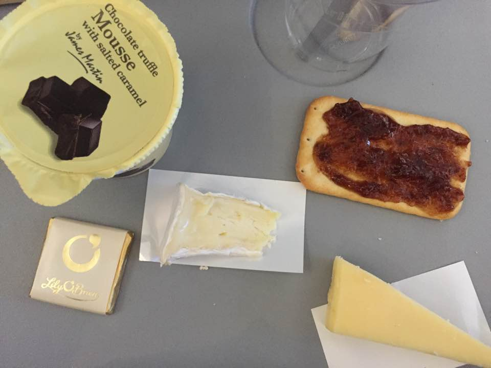 A Thomas Cook Long Haul Flight from Manchester | In-flight Meals, Entertainment & What to Expect - A Review - James martin cheese and crackers