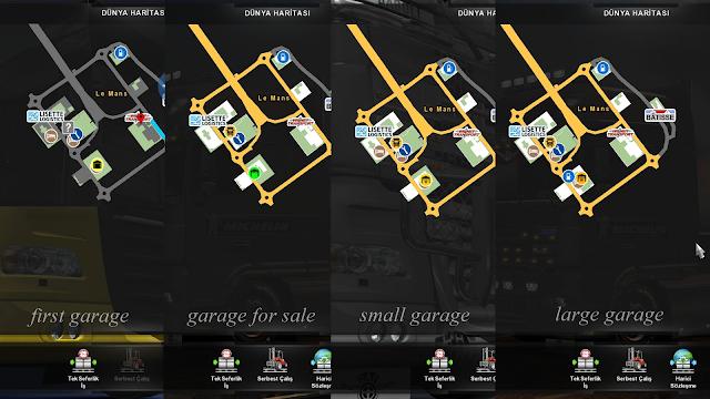 ets 2 google maps navigation night version v1.7 screenshots 4