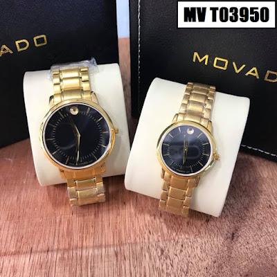 Đồng hồ đeo tay cặp đôi Movado MV T03950