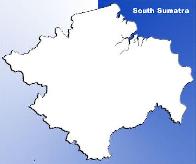 image: South Sumatra blank map