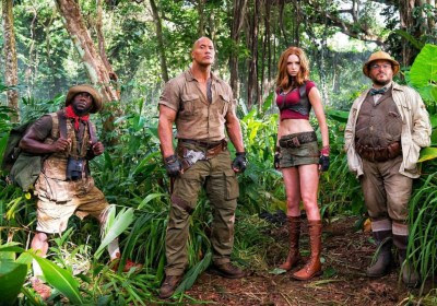 Sinopsis Film Bioskop Jumanji: Welcome to the Jungle (2017)