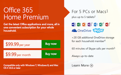 Where to buy Office 365