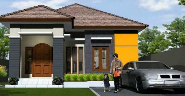 Contoh model rumah minimalis type 30