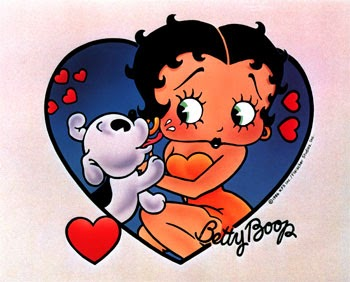 Kisses to Betty Boop: Free Printable Cards, Toppers or Labels ...